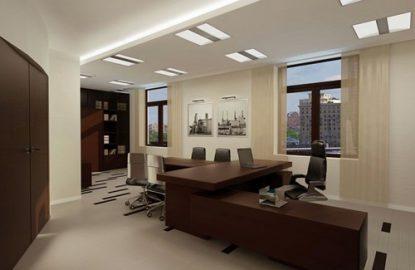 Натяжные потолки в офисе в Москве и Области рисунок 1127
