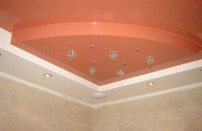 Многоуровневые натяжные потолки рисунок 373