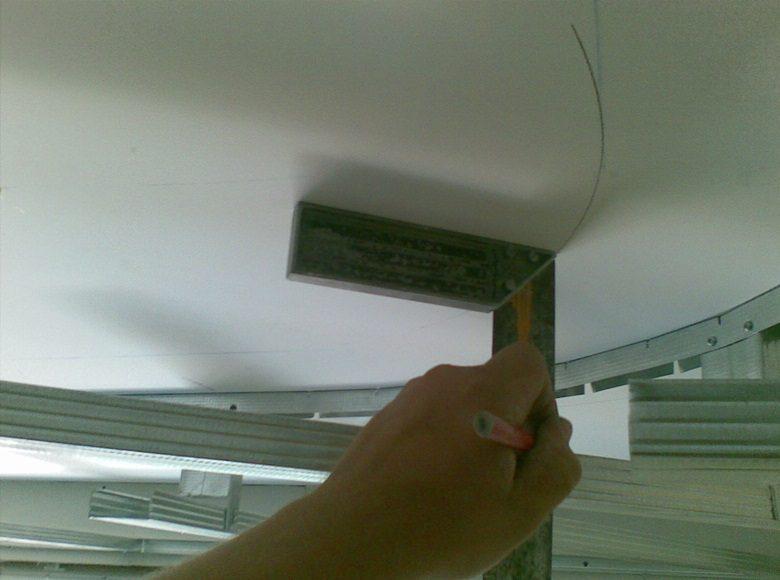 Как сделать натяжной потолок своими руками рисунок 556