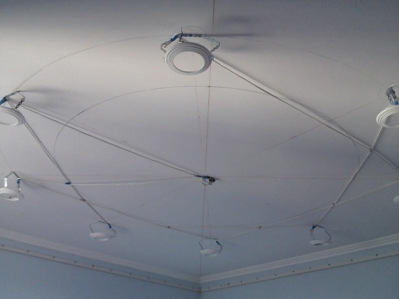 Как сделать натяжной потолок своими руками рисунок 557