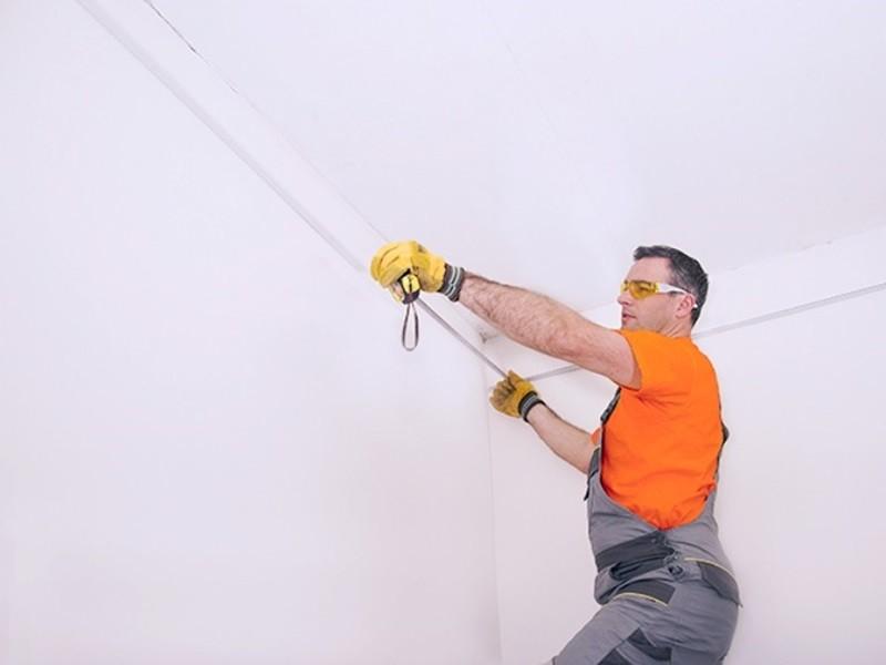Как сделать натяжной потолок своими руками рисунок 558
