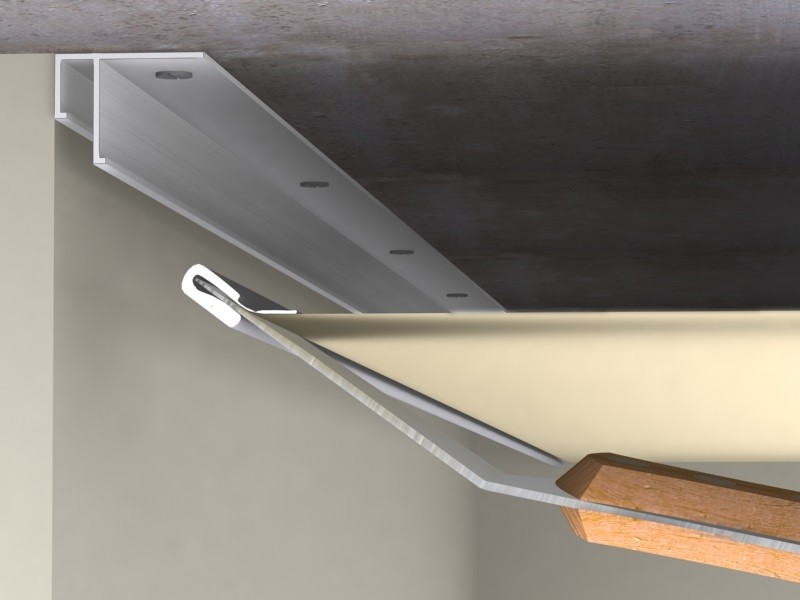 Как сделать натяжной потолок своими руками рисунок 561