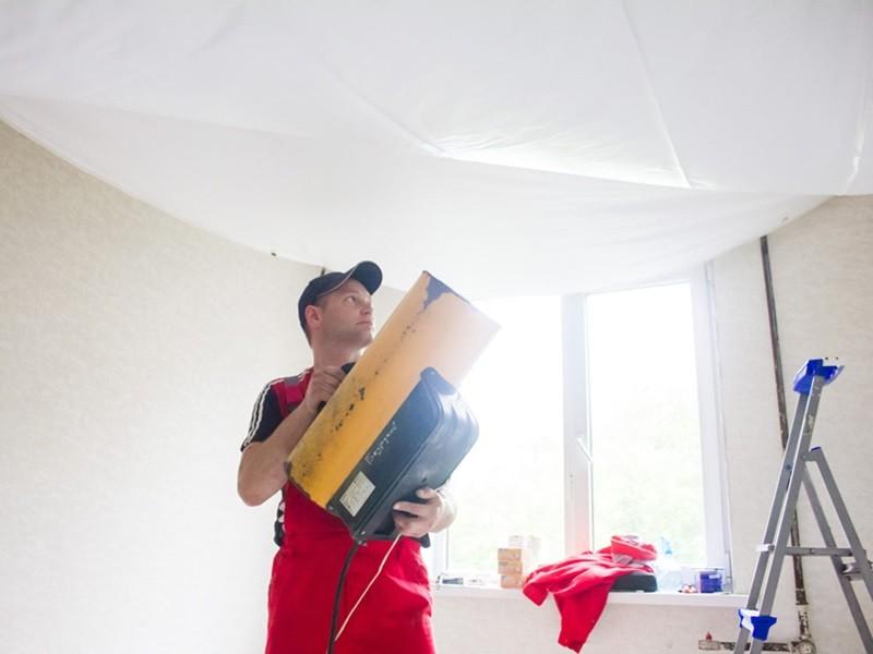 Как сделать натяжной потолок своими руками рисунок 563