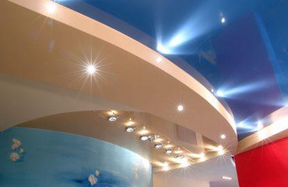 Установка светильников в натяжной потолок в Москве и Области рисунок 644