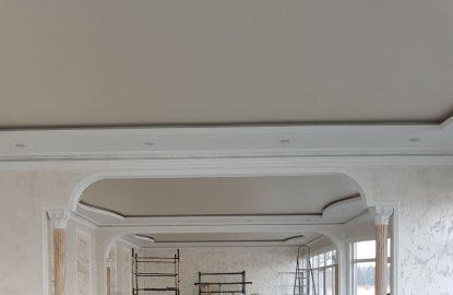 Натяжные потолки для зала рисунок 1177