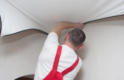 Как устанавливают натяжные потолки рисунок 831