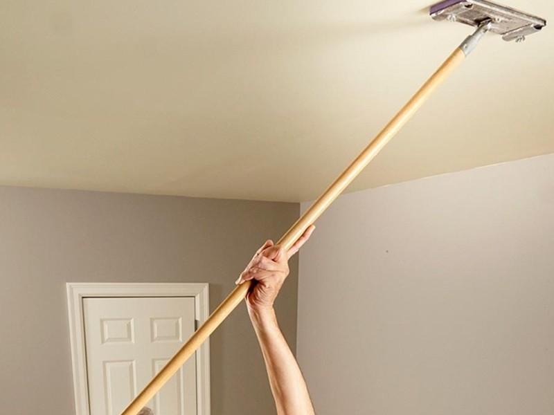 Как мыть натяжные потолки рисунок 696