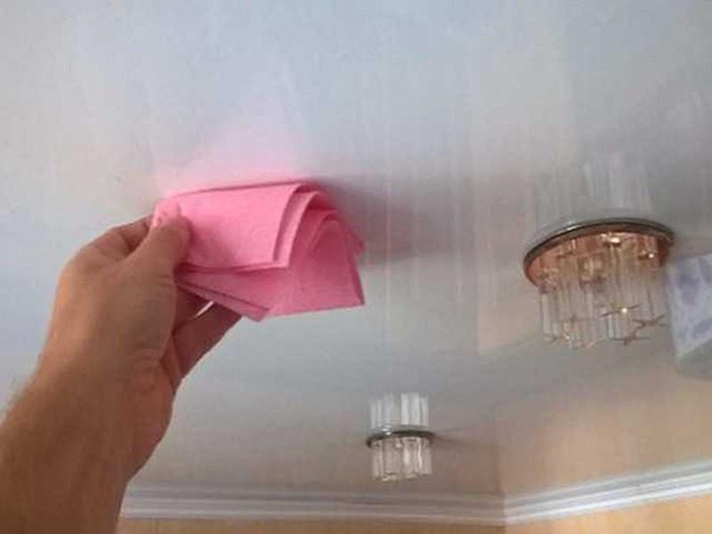 Как мыть натяжные потолки рисунок 693