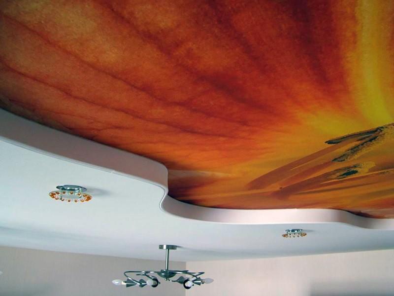 Виды натяжных потолков рисунок 761