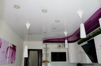 Натяжные потолки на кухне в Москве и Области рисунок 1027