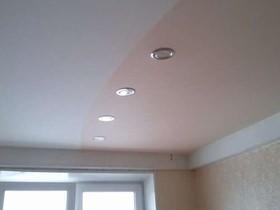 Натяжные потолки эконом-класса рисунок 2