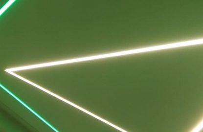 Натяжные потолки со световыми в Москве и Области рисунок 4