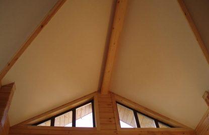 Натяжные потолки в деревянном доме в Москве и Области рисунок 1147