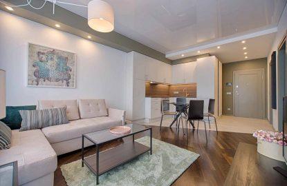 Натяжные потолки в однокомнатную квартиру рисунок 978