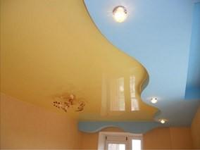 Натяжной потолок под ключ рисунок 1335