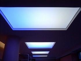Световой натяжной потолок рисунок 1